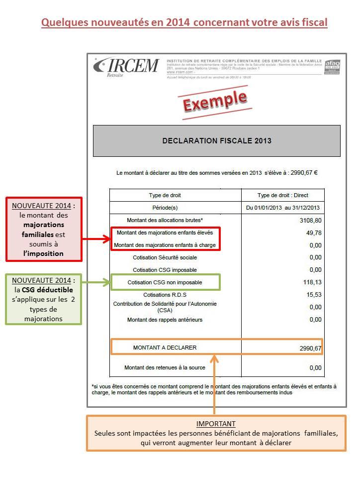 Exemple d'avis fiscal commenté