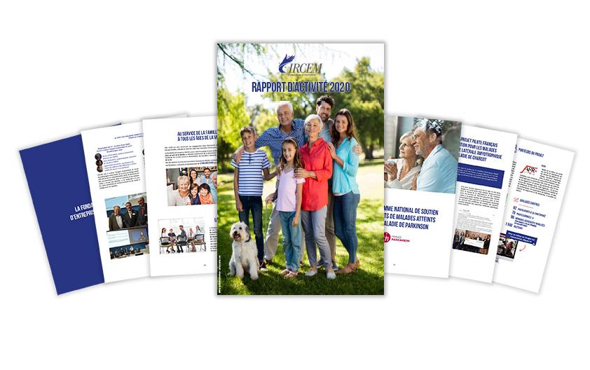 rapport fondation entreprise IRCEM 2020
